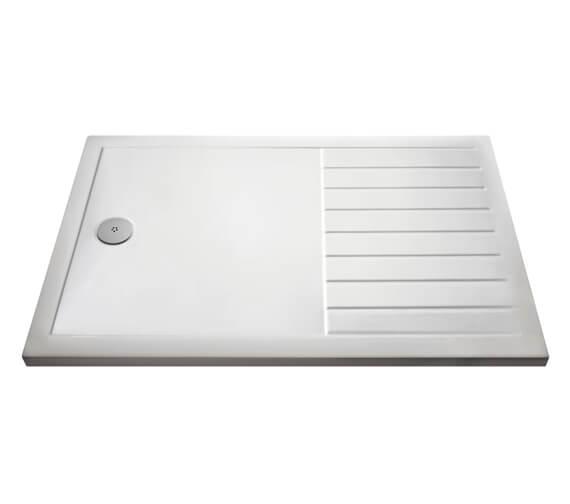Hudson Reed Pearlstone Rectangular Walk-In Shower Tray
