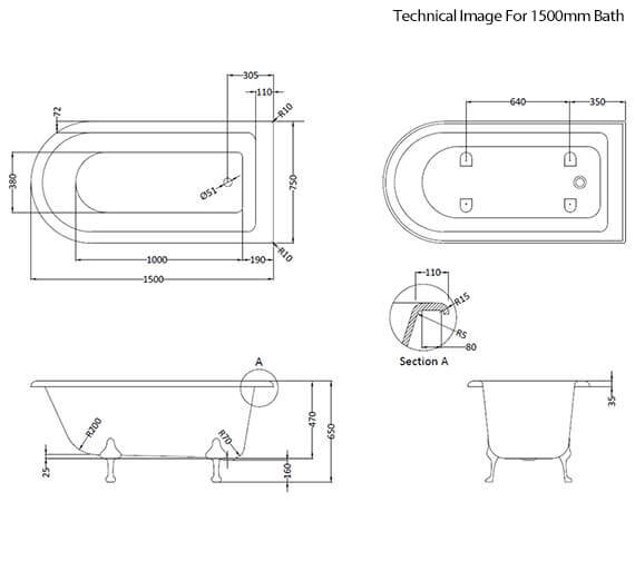 Technical drawing QS-V89439 / BAYB112