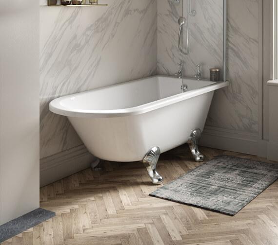 Hudson Reed Winterburn Freestanding Acrylic Bath With Leg Set
