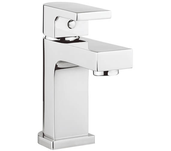 Crosswater Planet Mini Monobloc Basin Mixer Tap With Click Clack Waste
