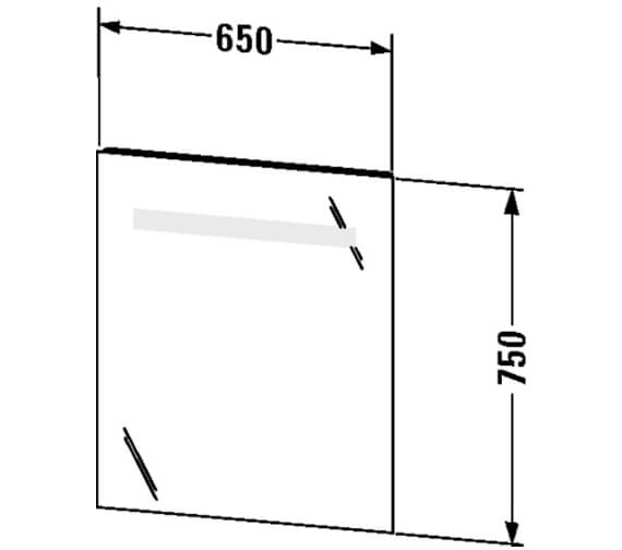 Technical drawing QS-V63316 / KT733000000