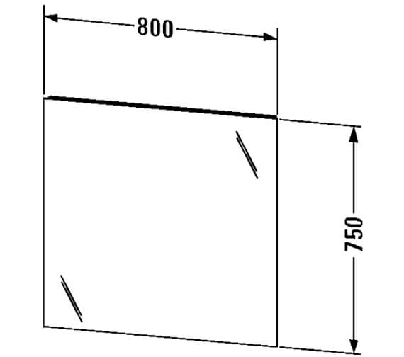 Additional image for QS-V63316 Duravit - KT733000000