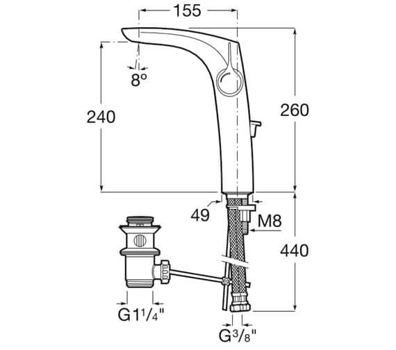 Technical drawing QS-V99643 / 5A3A3AC00