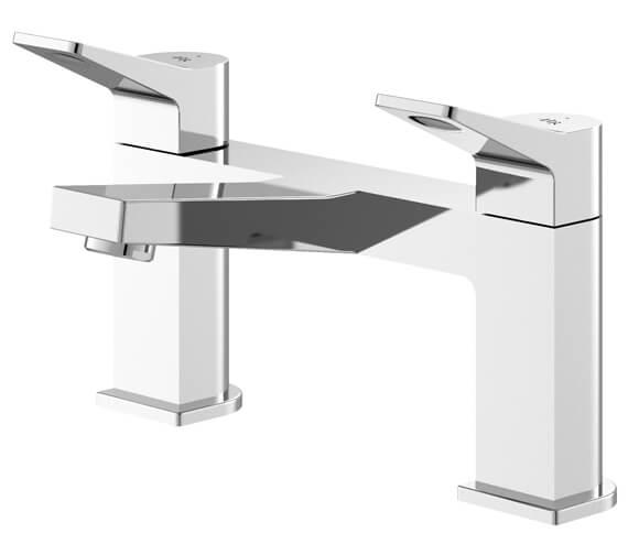 Hudson Reed Soar Chrome Deck Mounted Bath Filler Tap