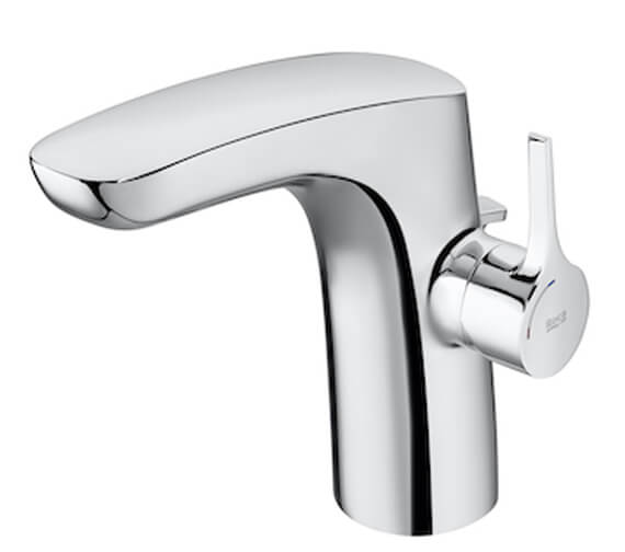 Additional image of Roca Insignia Smooth Body Basin Mixer Tap With Waste