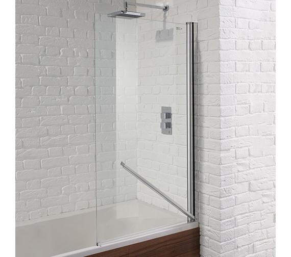 Aquadart Venturi 6 Swiftseal Single Bath Screen 800 x 1400mm
