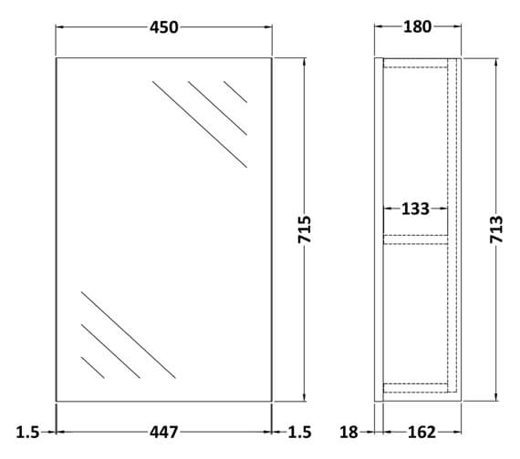 Technical drawing QS-V98039 / OFF116