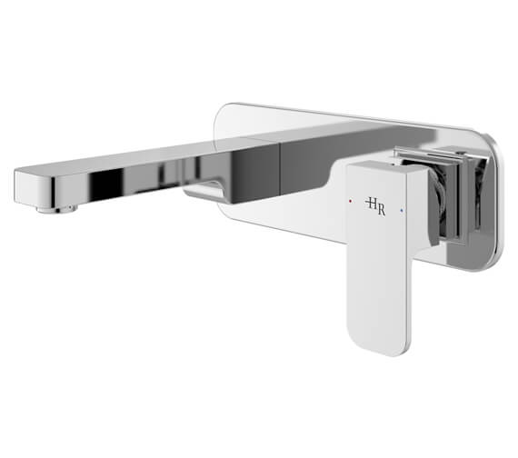 Hudson Reed Astra Wall Mounted Single Lever Basin Mixer Tap