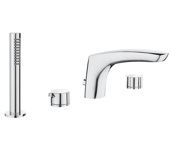 Roca Insignia Deck Mounted Bath Shower Mixer Tap