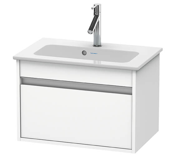 Duravit Ketho 385mm Depth Wall Mounted Compact Vanity Unit