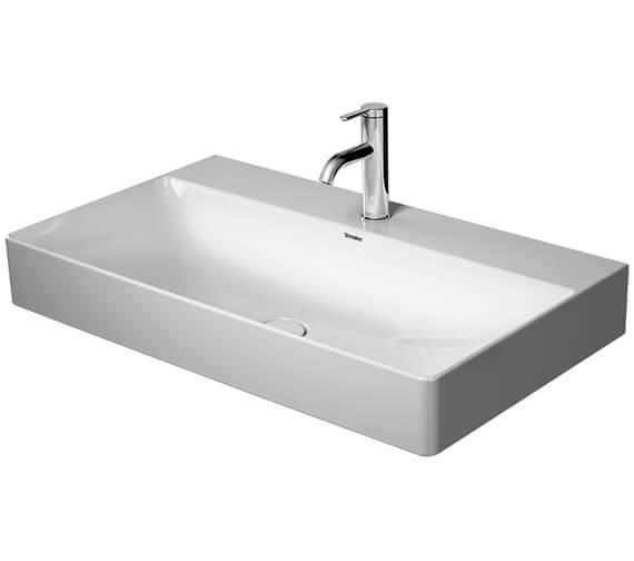 Duravit Durasquare 800 x 470mm Washbasin Ground