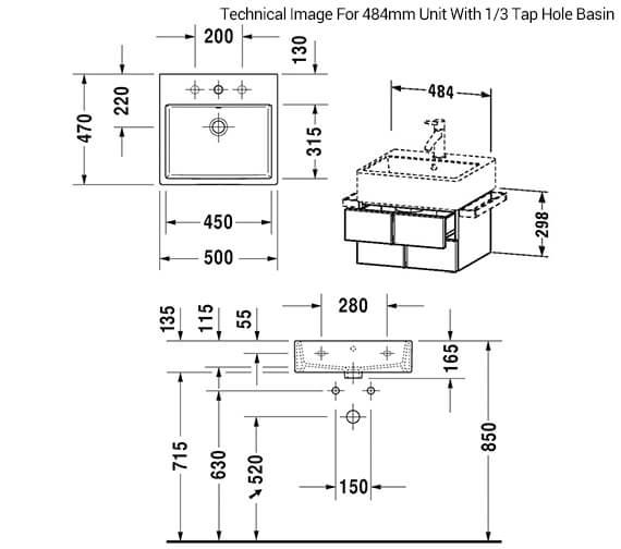 Technical drawing QS-V33510 / VA628401818