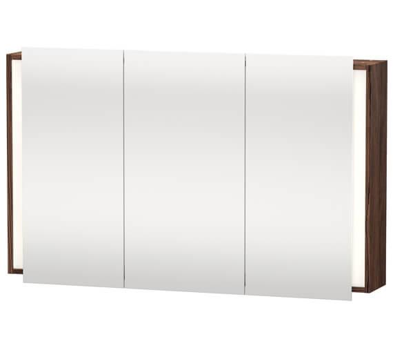 Alternate image of Duravit Ketho 1200 x 750mm 3 Door Mirror Cabinet