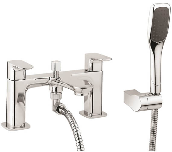 Crosswater Serene Deck Mounted Bath Shower Mixer Tap With Kit