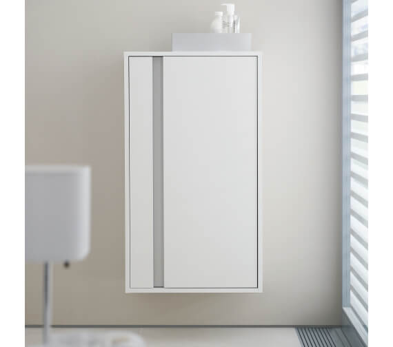 Duravit Ketho 500 x 360mm Single Door Semi Tall Cabinet
