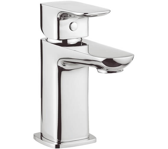 Crosswater Serene Monobloc Basin Mixer Tap With Click Clack Waste