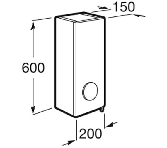 Technical drawing QS-V42258 / 856843806