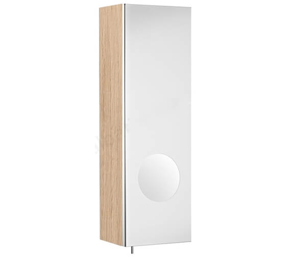 Alternate image of Roca Luna 200 x 600mm Left Hand Mirror Cabinet