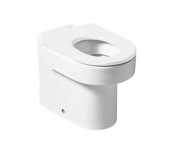 Roca Happening Floorstanding WC Pan With Dual Outlet