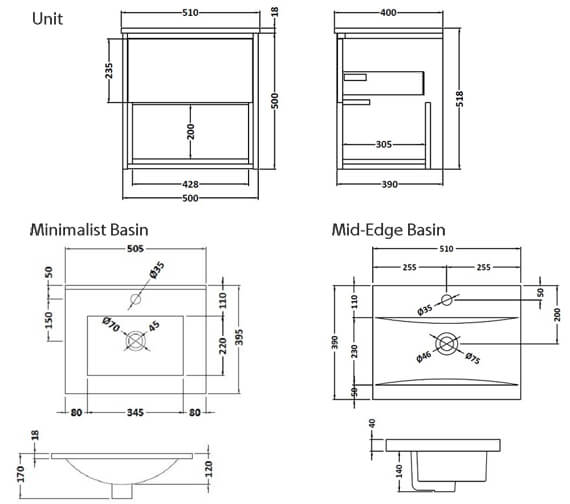 Technical drawing QS-V98032 / CST975