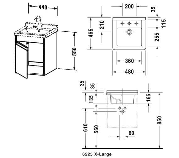 Technical drawing QS-V59035 / KT6662L1818