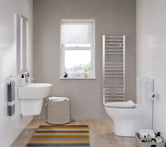 Crosswater Kai Compact Close Coupled WC with Cistern And Soft Close Seat
