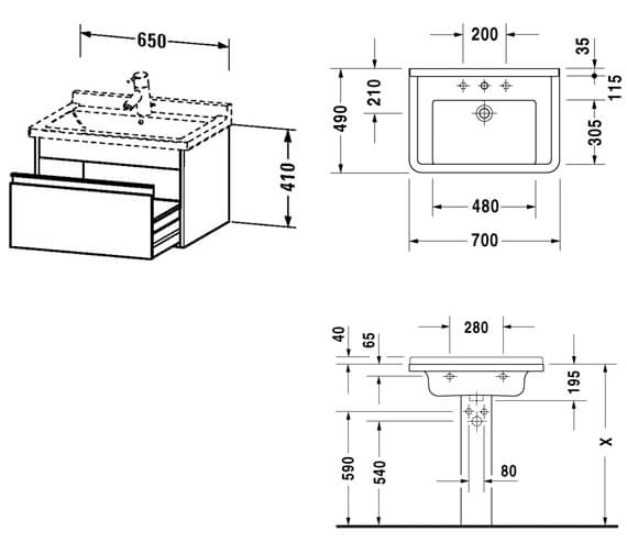 Technical drawing QS-V59036 / KT666301818