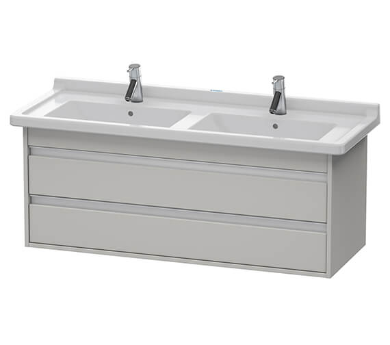 Additional image of Duravit Ketho 1200 x 465mm Wall Mounted 2 Drawer Vanity Unit