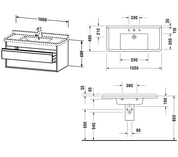 Technical drawing QS-V59040 / KT664301818
