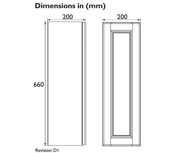 Technical drawing QS-V100610 / FFDGRWU200