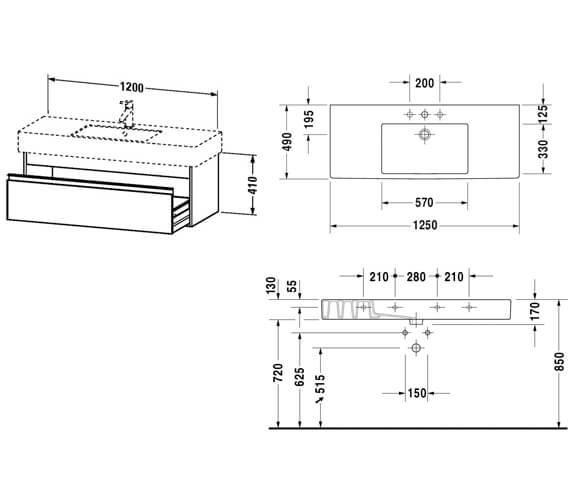 Technical drawing QS-V59126 / KT669001818