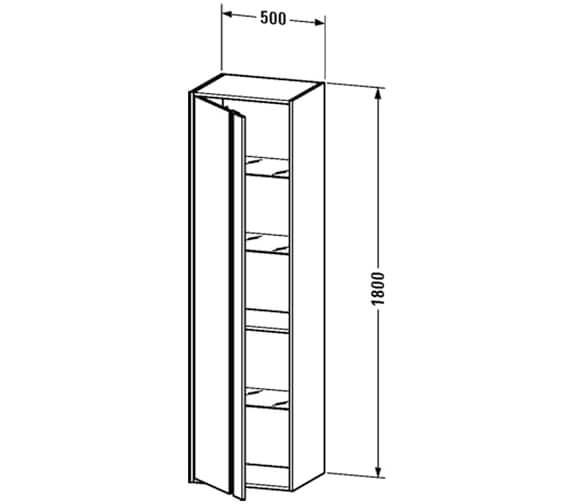 Technical drawing QS-V26589 / KT1255L1818
