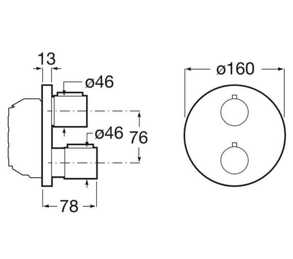 Technical drawing QS-V99652 / 5A2C09C00
