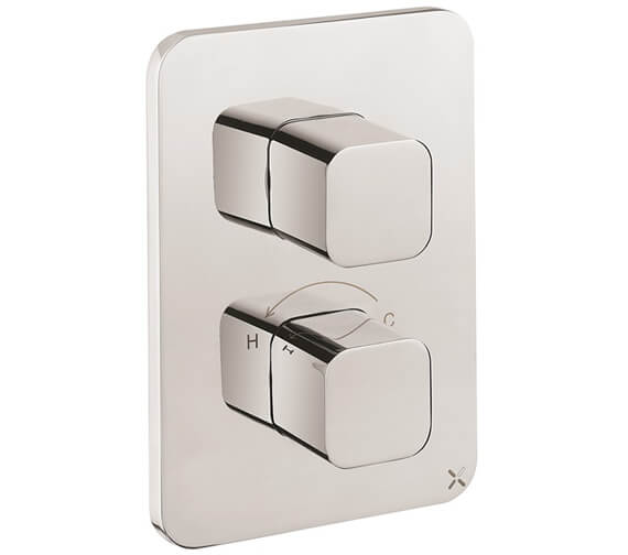Crosswater Atoll Wall Mounted Crossbox Thermostatic Valve