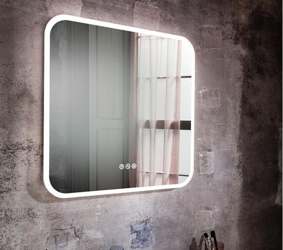 Alternate image of Crosswater Svelte Landscape Illuminated Mirror