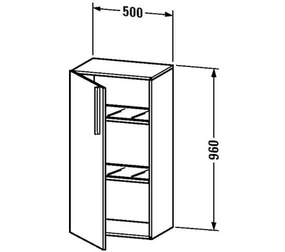 Technical drawing QS-V4403 / VE1106L1818