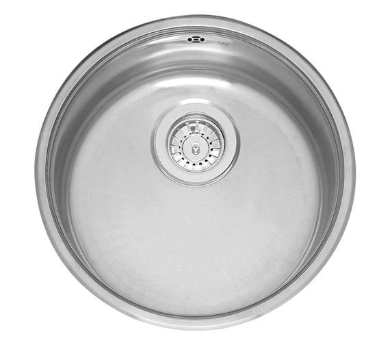Reginox 412mm Diameter Single Round Bowl Integrated Kitchen Sink