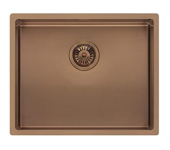 Additional image for QS-V99093 Reginox Sinks - MIAMI 40X40 COPPER