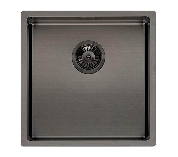 Alternate image of Reginox Miami 440 x 440mm Single Bowl Kitchen Sink Copper Finish