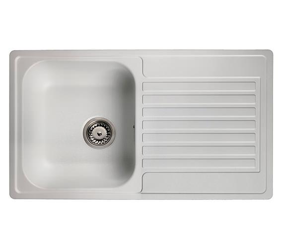 Alternate image of Reginox Centurio L10 Stainless Steel Integrated Sink 850 x 490mm