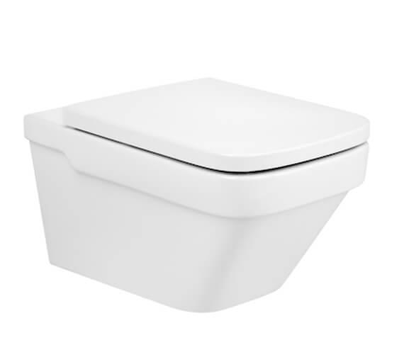 Roca Dama-N Vitreous China Wall Hung Rimless WC