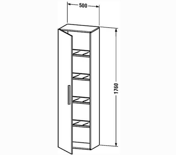 Technical drawing QS-V4405 / VE1115L1818