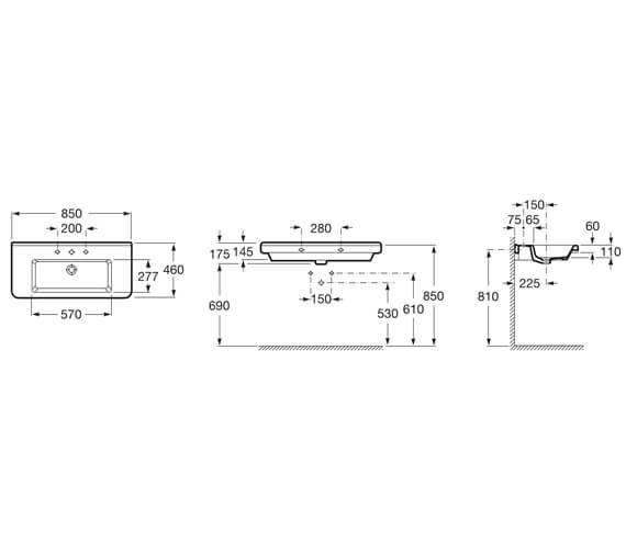 Technical drawing QS-V99664 / 327783000
