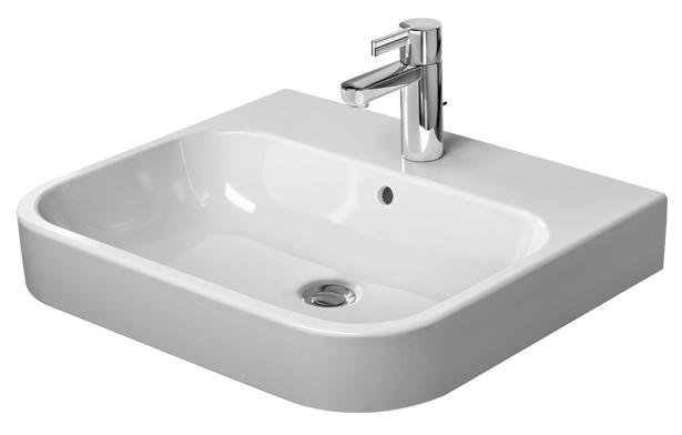Duravit Happy D.2 Furniture White Washbasin