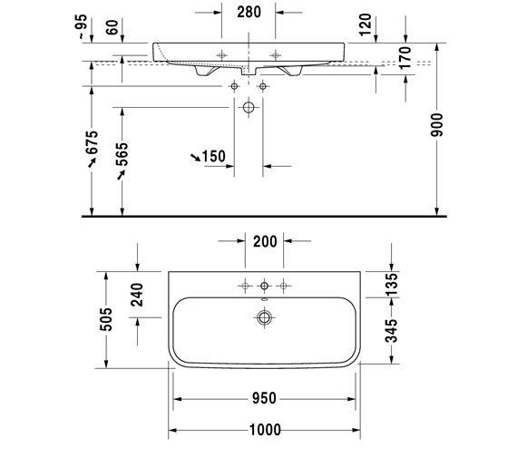 Technical drawing QS-V100651 / 2318600060