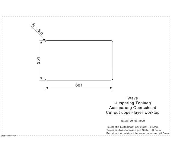 Additional image for QS-V99094 Reginox Sinks - WAVE CW