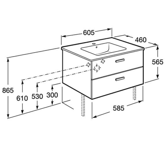 Technical drawing QS-V100043 / 856575806