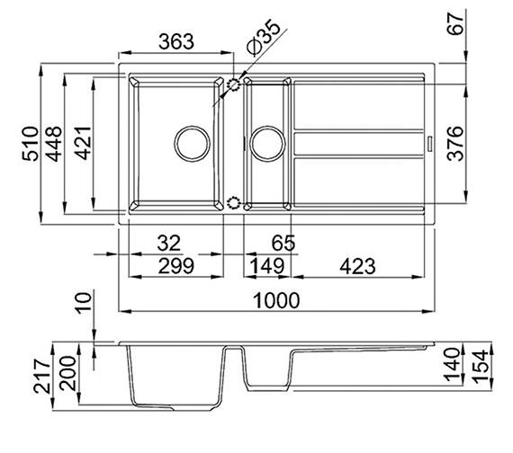 Technical drawing QS-V99099 / BEST 475 B