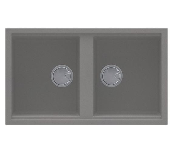 Additional image of Reginox Best 450 Double Bowl Inset Granite Kitchen Sink 860 x 510mm