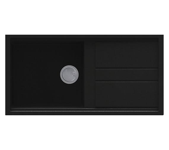 Reginox Best 480 Single Bowl Inset Granite Kitchen Sink 1000 x 510mm